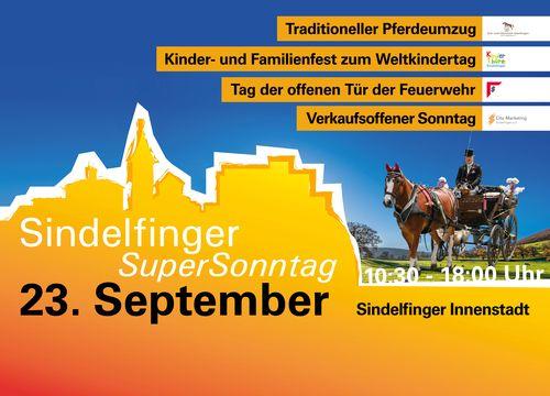Stadt Sindelfingen Supersonntag 2018